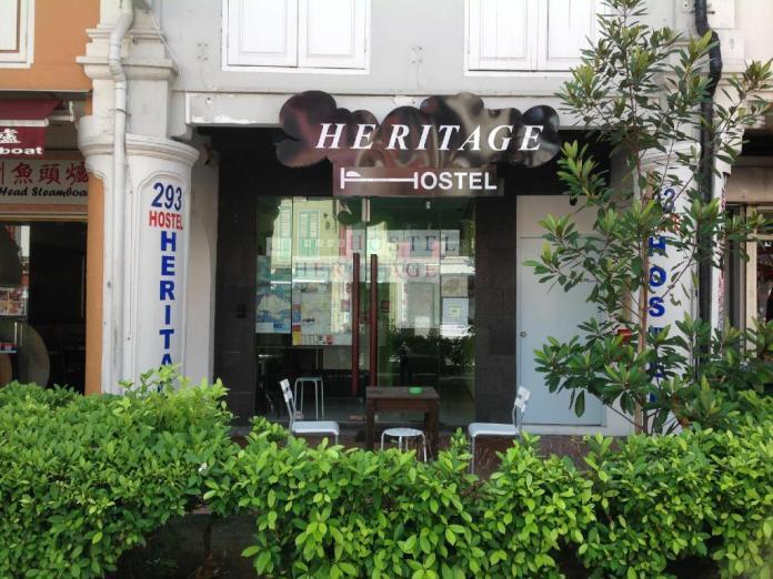 Heritage Hostel ở khu vực gần với chợ đêm Chinatown.