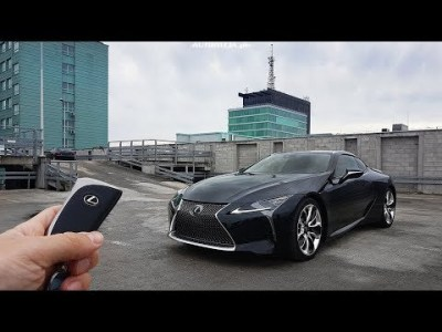Lexus LC 500 5.0 V8 477 hp TEST POV Drive & Walkaround English Subtitles