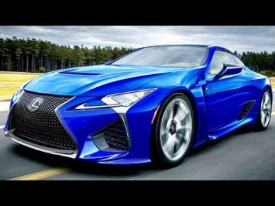 2019 レクサス 新型 LC F モデルチェンジ情報!新開発V8搭載の本格派スポーツ!
