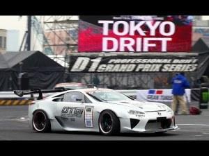 実戦投入ドリフト仕様レクサスLFA LEXUS supercar drifting d1gp toyota