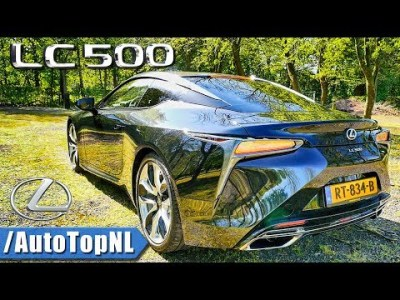 Lexus LC 500 5.0 V8   PURE V8 P*RN!!   Exhaust SOUND REVS & ONBOARD by AutoTopNL