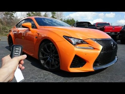 2015 Lexus RC-F: Start Up, Exhaust, Walkaround and Review