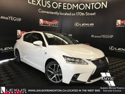 White 2017 Lexus CT 200h F Sport Series 2 In Depth Review South Edmonton Alberta