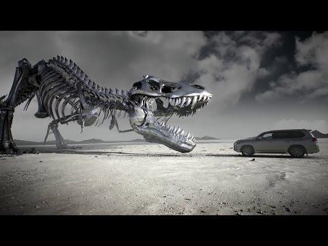 レクサスvs巨大恐竜!? 新型レクサスLX web CM集