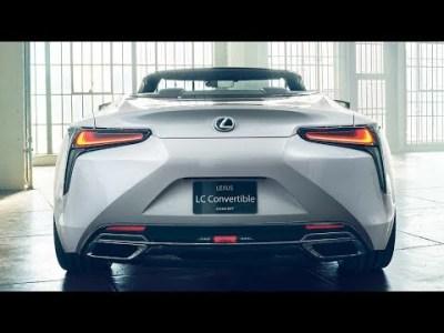2020 Lexus LC Convertible Concept vs 2020 Lexus RC F Track Edition