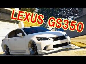【GTA5】カスタム多数!!男のセダン!!LEXUS GS350【実車MOD】