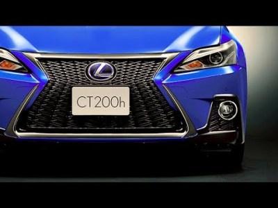 2018 レクサス 新型 CT200h と CT200h Fスポーツ