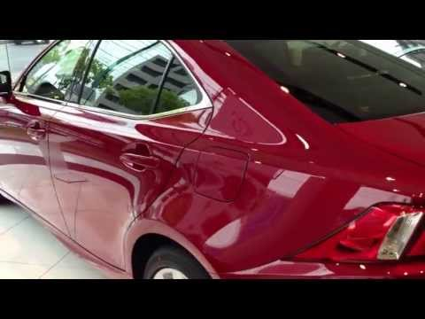 レクサス 新型IS250 レッドマイカクリスタルシャイン Lexus IS250 red new