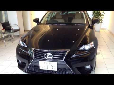 レクサス 新型IS250 versionL ブラック 試乗車 Lexus IS250 black new