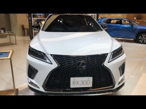 レクサス 新型 RX300 F SPORT 紹介 ( The New Lexus RX300 F Sport Introduction)