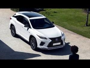 2020 Lexus RX 450h F-SPORT SUV Introduce