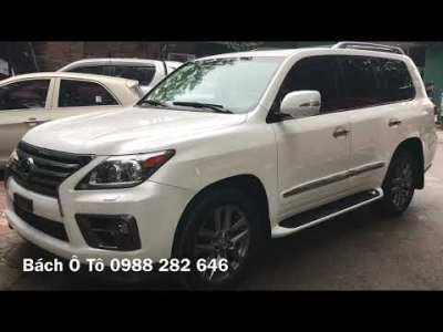 💥 LEXUS LX570 SUV FULL SIZE HẠNG SANG 🚘 ✨ 📞 0988 282 646