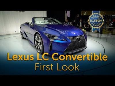 2021 Lexus LC 500 Convertible – First Look
