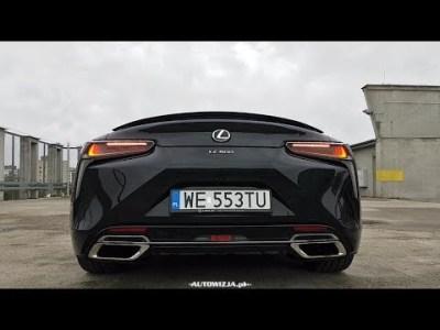Lexus LC 500 5.0 V8 477 hp exhaust sound, cold start, revs, interior sound