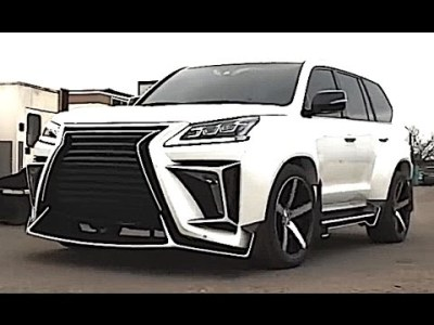 The largest and most luxurious SUV LEXUS LX 570, power and luxury under your ass