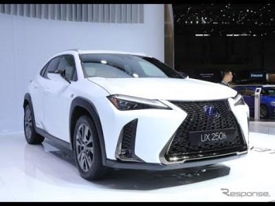 レクサス新型クロスオーバー「UX」、激戦区市場でのヒットなるか【特集写真】【車と人生 24_7】
