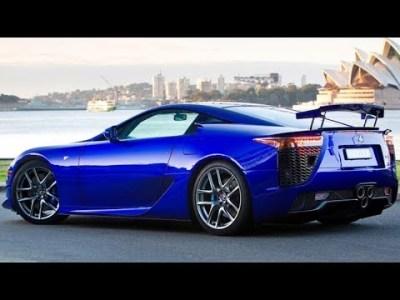 レクサス 新型 LFA の詳細!サウンドにこだわる高級車