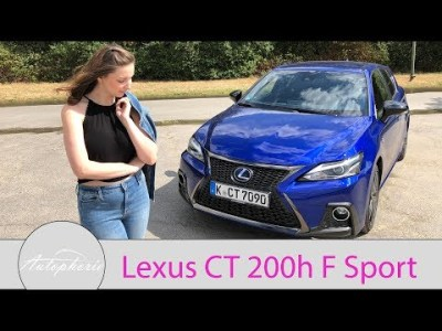 2018 Lexus CT 200h F Sport Fahrbericht / GIRLS REVIEW / Larissa testet – Autophorie