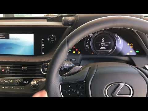 New LS500h STARTUP  LEXUS レクサス セダン 試乗始動動画