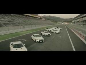 レクサスの走るアート、「DANCE of F」|Lexus