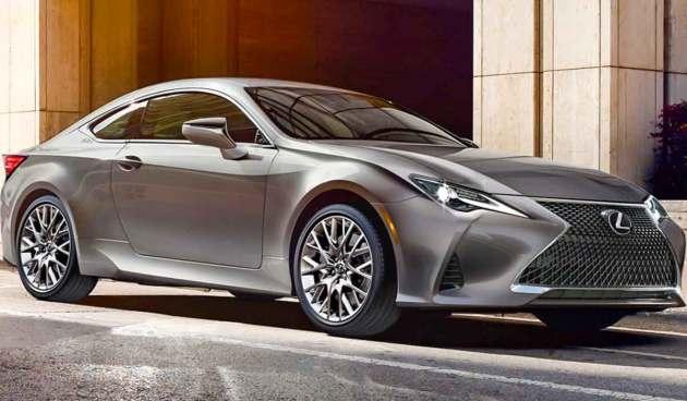 2022 Lexus RC