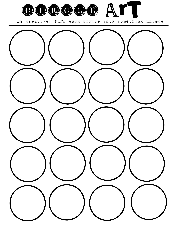 Imagination Workout Free Printable Art Worksheet