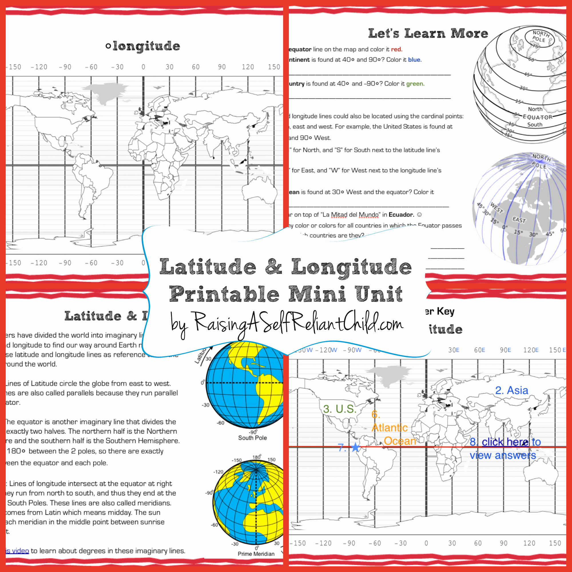 With This Worksheet Students Are Using Geography And Math