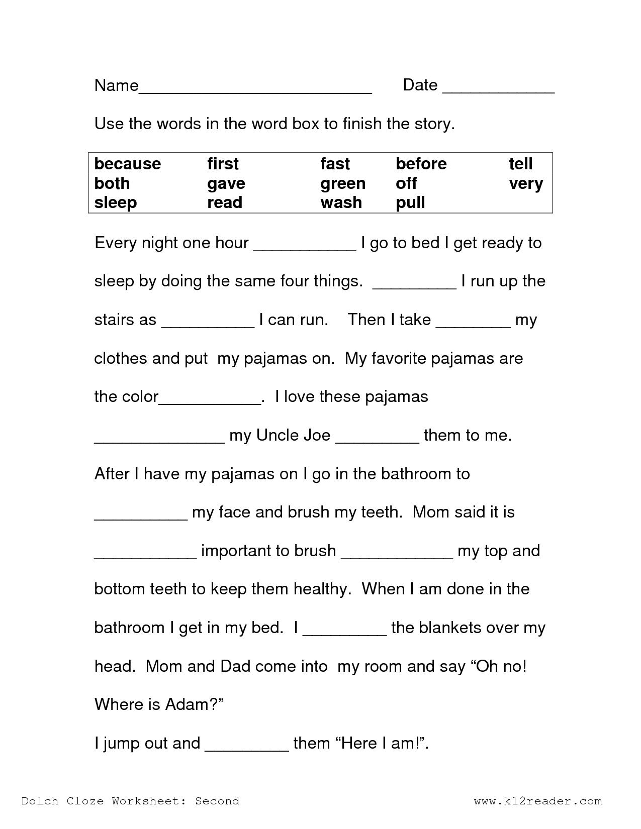 Printable Science Worksheets For 2nd Grade