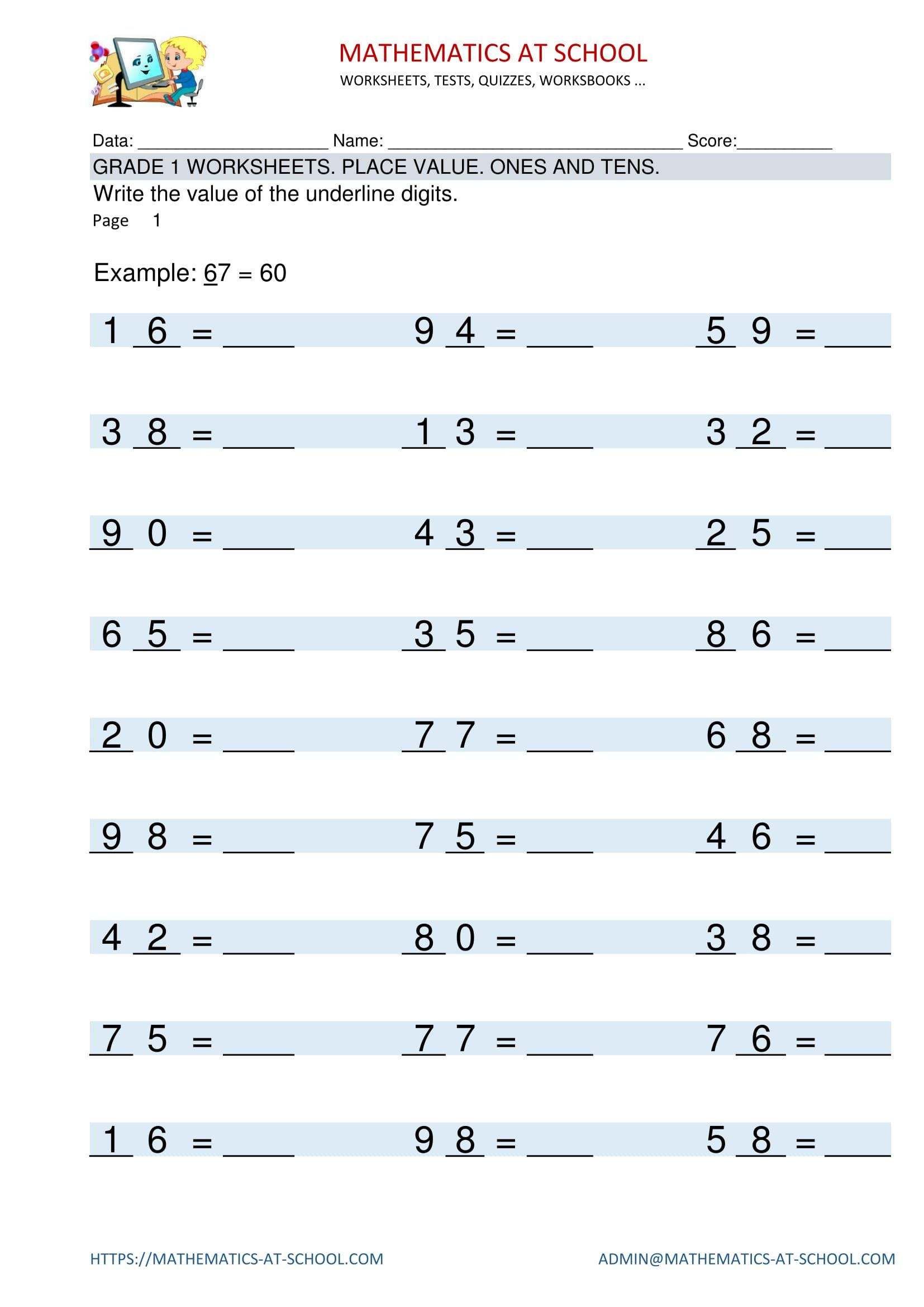 Pinenglish Maths On Year 4 Maths Worksheets And Printable