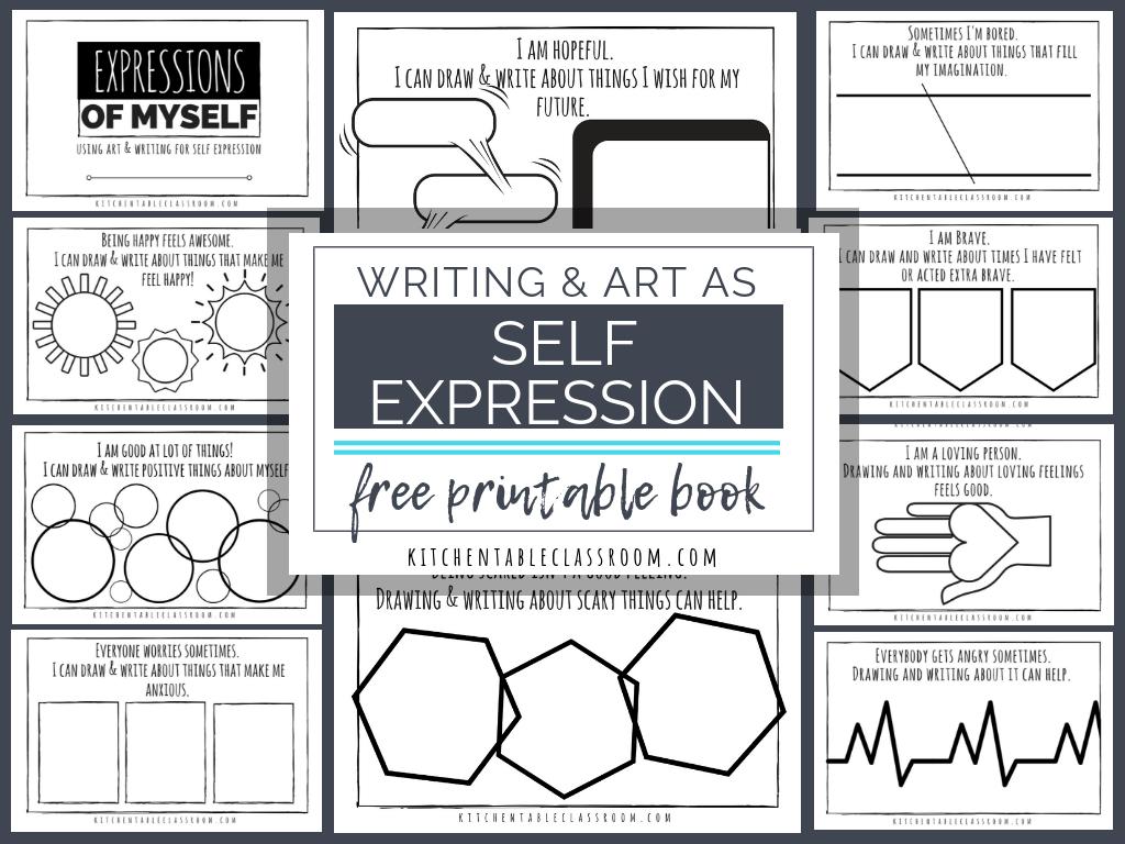 Self Esteem Printable Worksheets