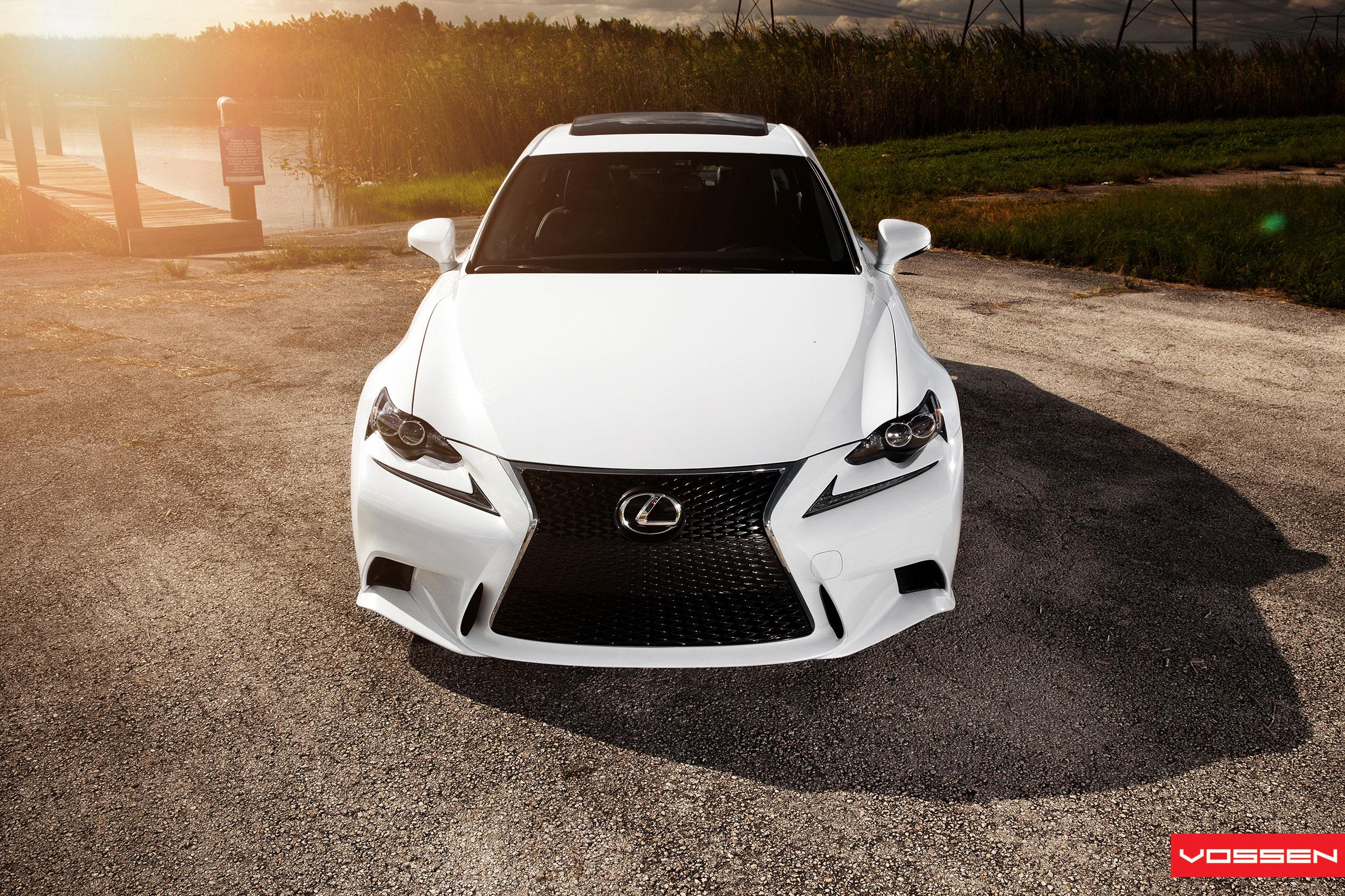 Gallery Lexus IS F SPORT on New Vossen CVT Directional
