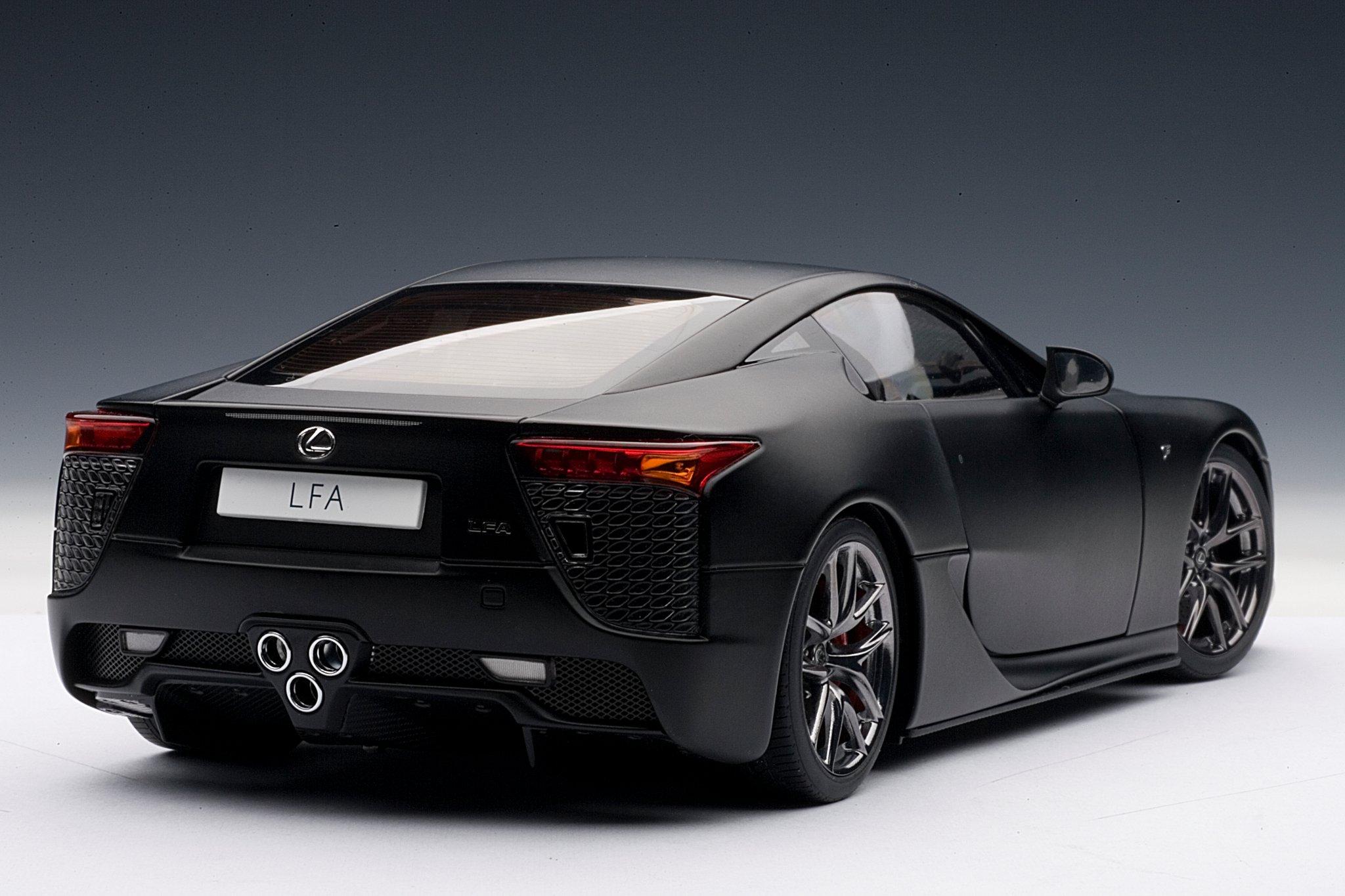 Car Picker black lexus LFA