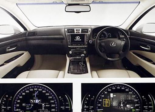 2010 Lexus LS 600hL Dash Display