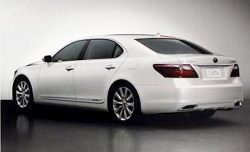 2010 Lexus LS 600hL Rear