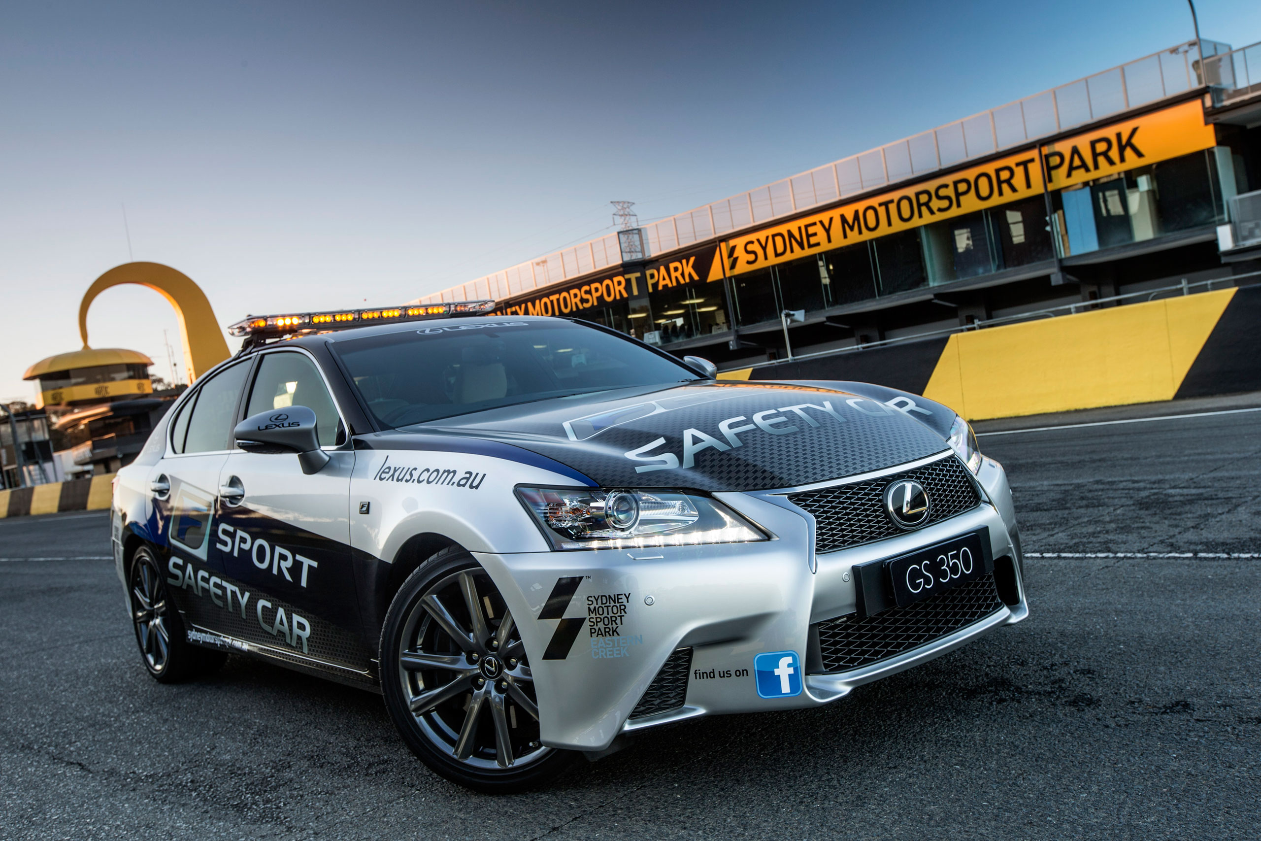 Lexus GS 350 F SPORT Pace Car in Australia