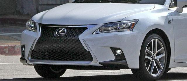 2014 Lexus CT 200h Teaser