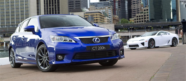 Lexus CT 200h High Performance