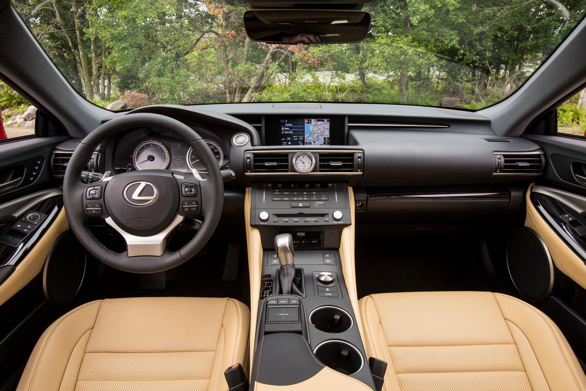 2015 Lexus RC 350 & RC 350 F SPORT Preview