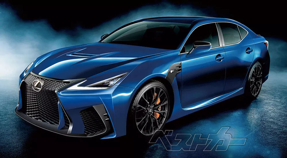 Lexus GS F Next Generation