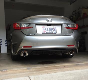 rc 350 f sport exhaust system upgrade