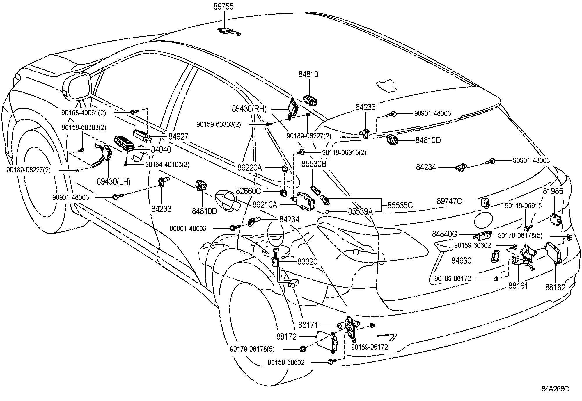 Lexus Rx 350 Parts Diagram