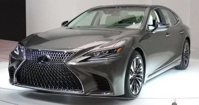 2019 Lexus LS Exterior