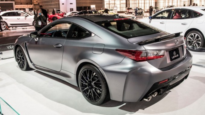 2019 Lexus RC Exterior