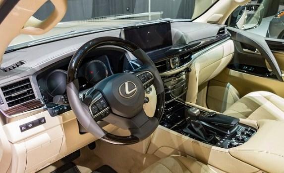 2019 Lexus LX 570 Interior
