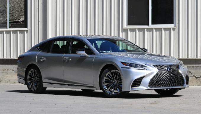 2020 Lexus LS Exterior