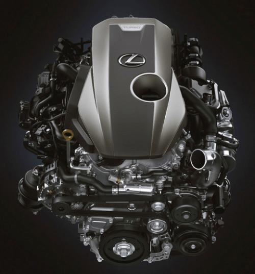 2019 Lexus LS 500 Engine