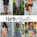 North vs. South: Mixing Prints