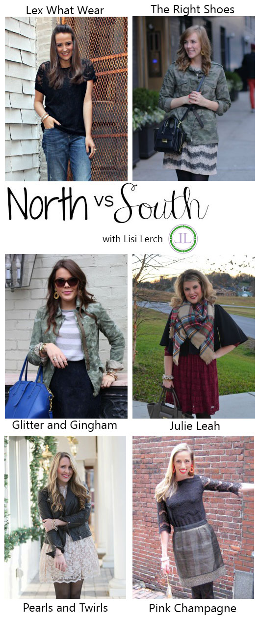 North v South Lace