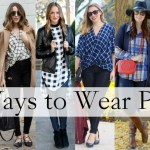 6 Ways To Wear Plaid