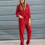 Little Red Jumpsuit